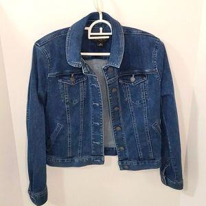 Ann Taylor Petite jean jacket size xsp